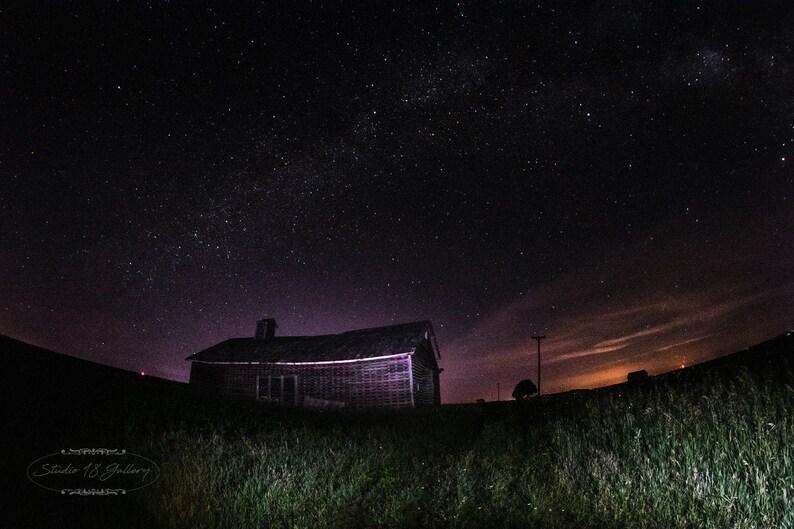 Iowa Corn Crib Under The Milky Way  Photographic Prints  image 0