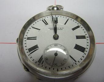 Antique pocket watch Skarrattt &Co Worcester 150 years old