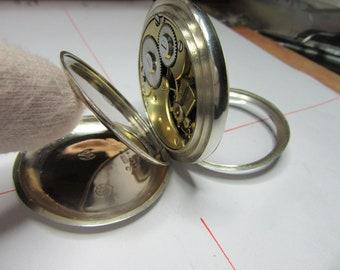 Vintage old pocket watch omega