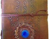 Leather journal/grimoire ...