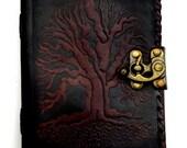 Leather grimoire  Black T...