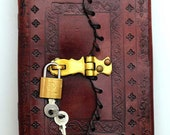 Leather Grimoire Book of ...