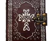 Celtic Cross leather Book...