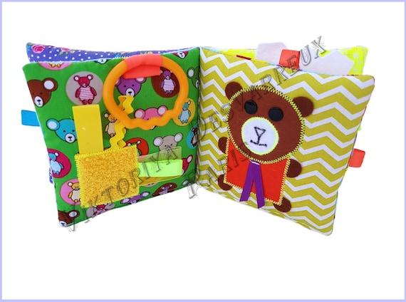 Livre Sensoriel Bebe Livre A Toucher Bebe Livre Tactile Livre Tissu Bebe 0 18 Mois Cadeau Naissance Coffret Naissance