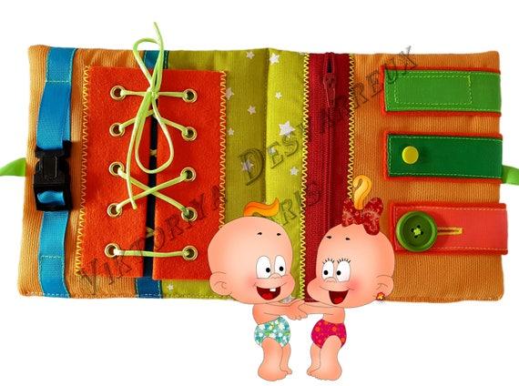 Livre D Activite Mini Livre En Tissu Livre Sensoriel Livre Tactile Livre D Activites En Tissu Quiet Book Acheter Quiet Book Francais