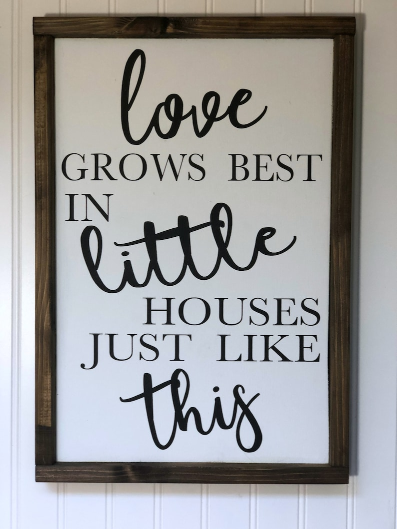 Download Love Grows Best In Little Houses Just Like This Family ...