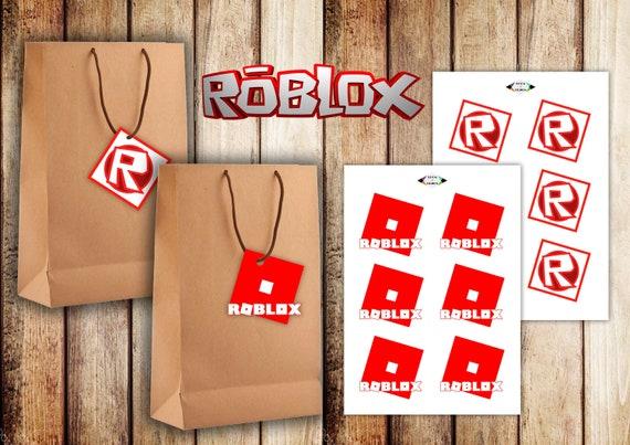12 Roblox Digital Roblox Printable Roblox Tags Roblox Etsy