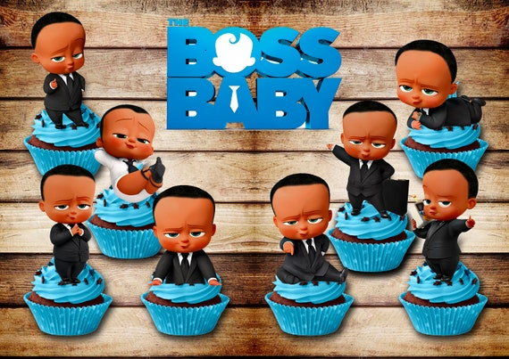 graphic regarding Boss Baby Printable identified as Manager Youngster printable - Manager Boy or girl Centerpieces - Manager Child toppers - Manager Child Celebration - manager youngster Birthday Do-it-yourself - electronic topper