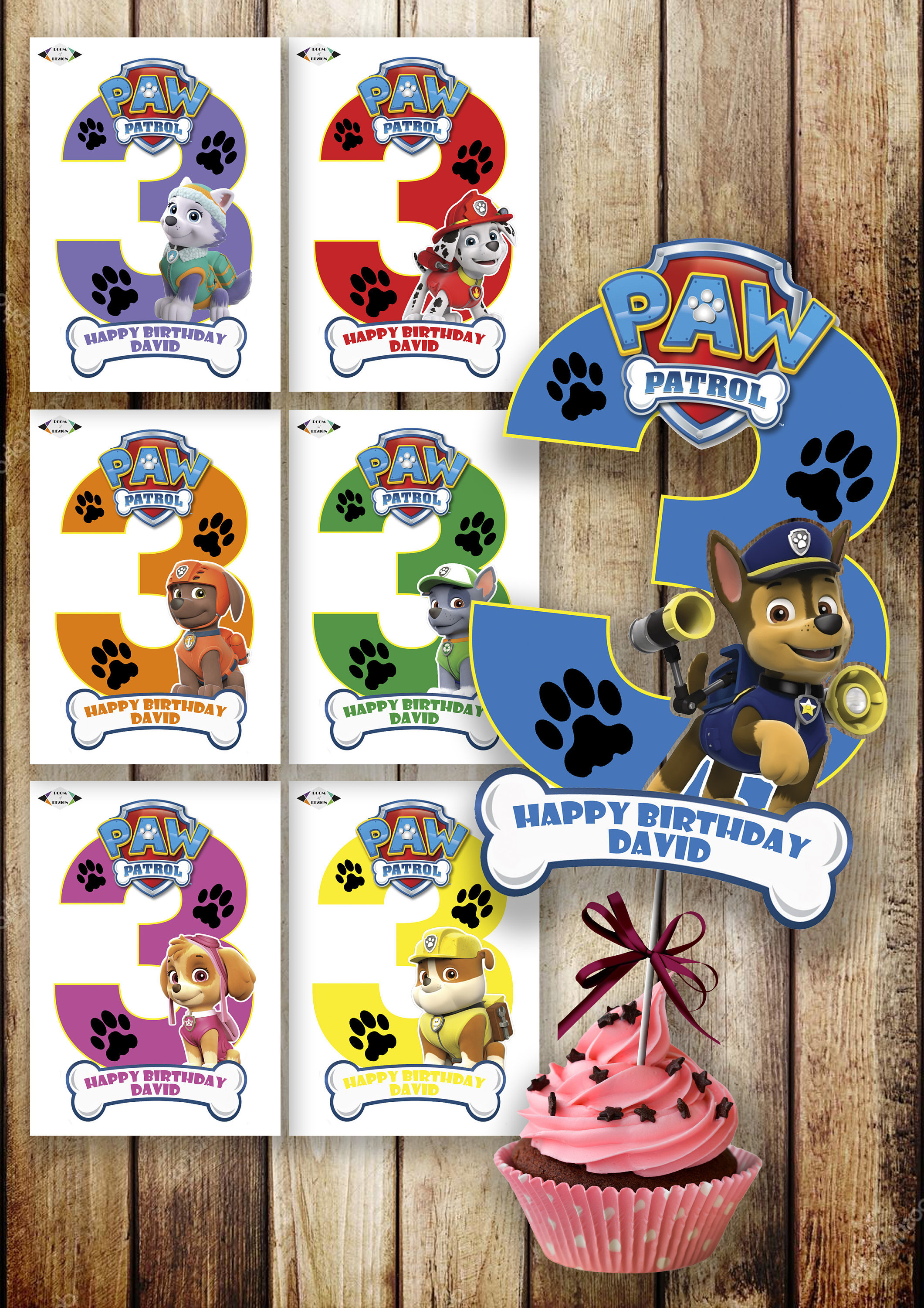 Astounding Paw Patrol Printable Paw Patrol Paw Patrol Centerpiece Paw Patrol Number 3 Centerpieces Paw Patrol Party Paw Patrol Birthday Diy Download Free Architecture Designs Scobabritishbridgeorg