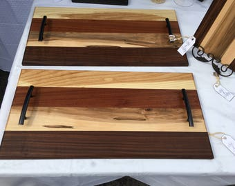 Exotic Wood Serving Tray