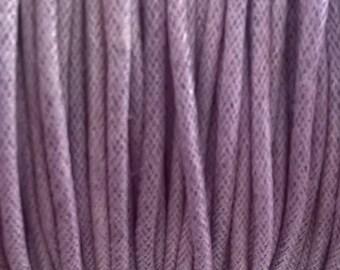 Purple 2 mm cotton cord