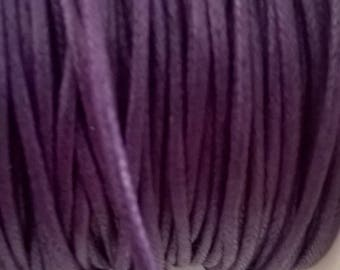 Coated cotton Purple 2 mm
