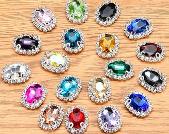 12e82b9444 Sew on rhinestones | Etsy