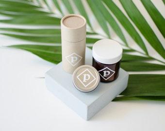 Pépin TRIO: lip balm, aluminium free deodorant, dry shampoo- natural skincare, gift for her, gift for him, gift, gift idea, organic