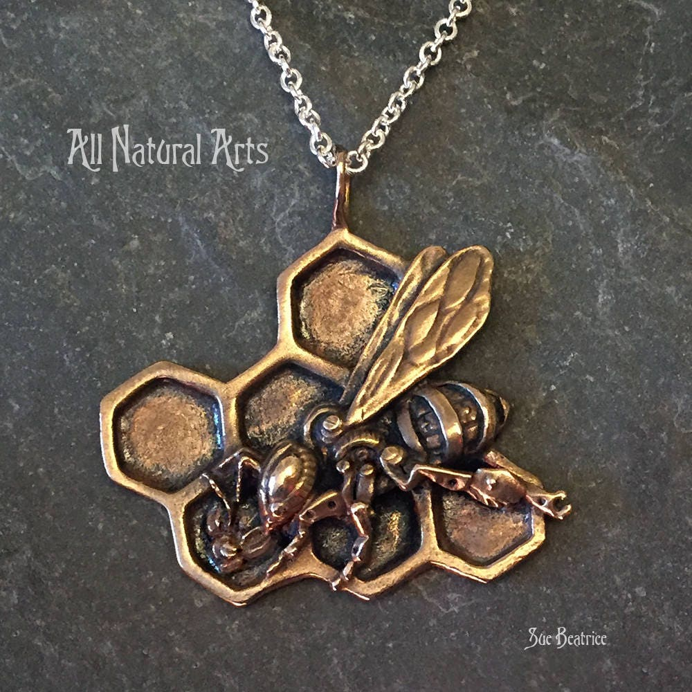 the honey bee bronze etsy