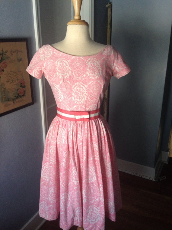 1950's Gay Gibson fit and flare.