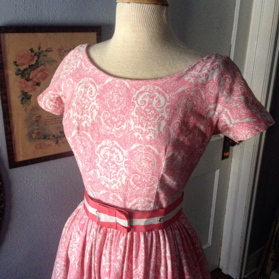 1950's Gay Gibson fit and flare. - image 2