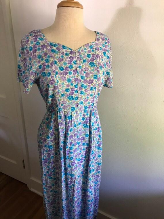 1990's floral dress