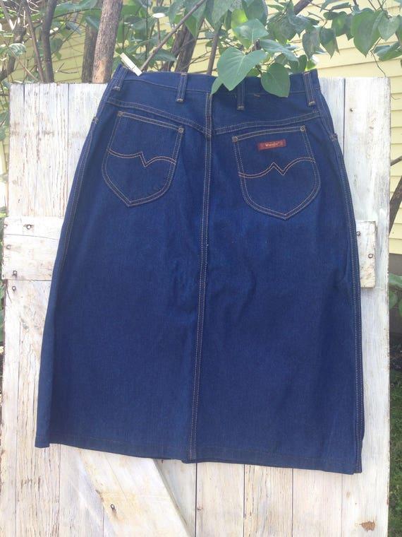 1970's Wrangler skirt
