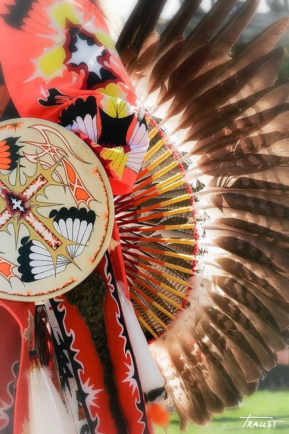 Eagle Feather Indian Headdress Native American Decor Photo ...