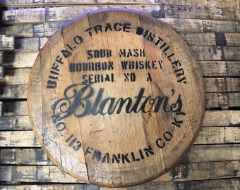 Bourbon Barrel Head Etsy