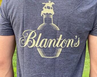 blanton/'s buffalo trace Blantons bourbon bottle Short-Sleeve Unisex T-Shirt