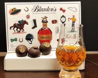 Blanton's Bourbon Limited Edition Truffles