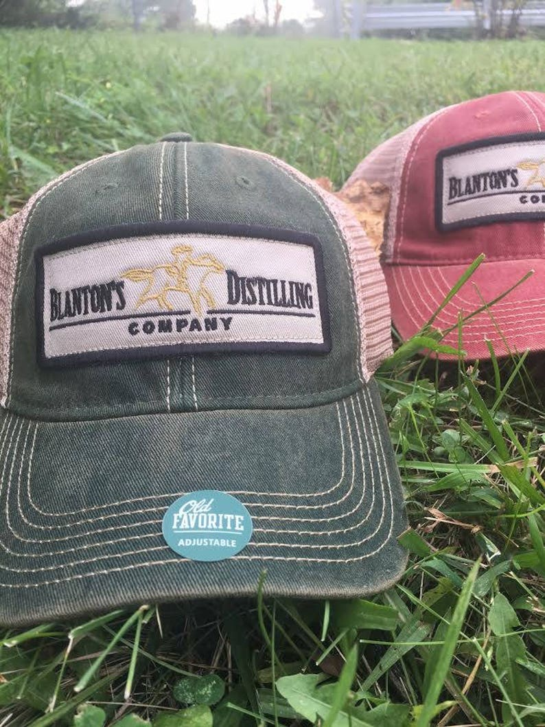 cfab742f227b7 Blanton s Bourbon Old Favorite Trucker Hat
