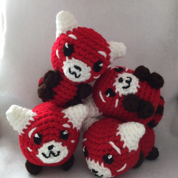 Rusty the Red Panda amigurumi pattern by A Morning Cup of Jo ... | 570x570