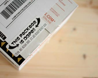 This Package Is Dope Stickers - Large - 6 Ct