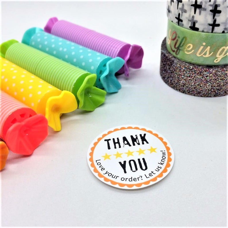 Review Stickers  Etsy Shopify YOTPO & Store Envy Inspired image 0