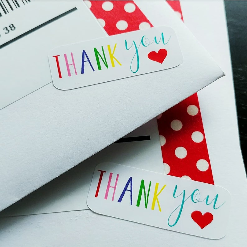 Thank You w/ Heart  20 Ct image 0