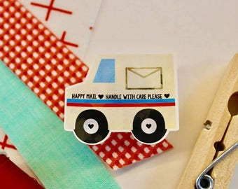 Vroom Vroom Happy Mail Stickers - 15 Ct