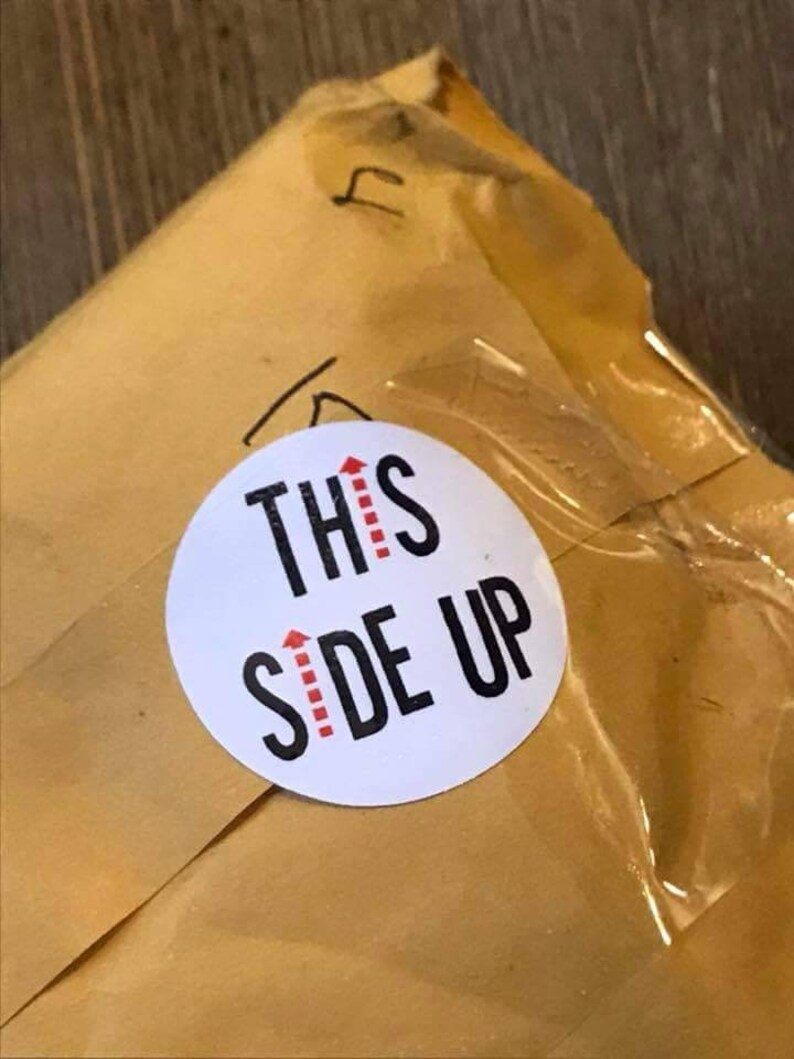 This Side Up Packaging Stickers  15 Ct image 0