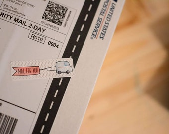Mail For You Stickers - 15 Ct