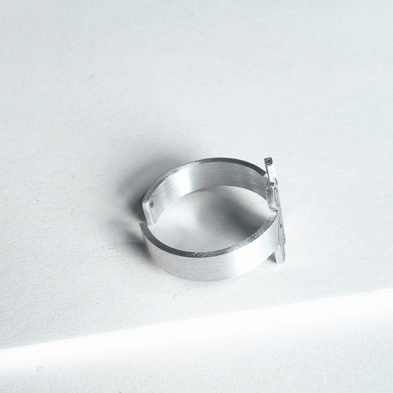 Adjustable Sterling Silver Ring Pet Loss Gift Dog and Cat Ring Mothers/' Day Gift Custom Pet Photo Ring Dog Portrait Ring Pet Memorial