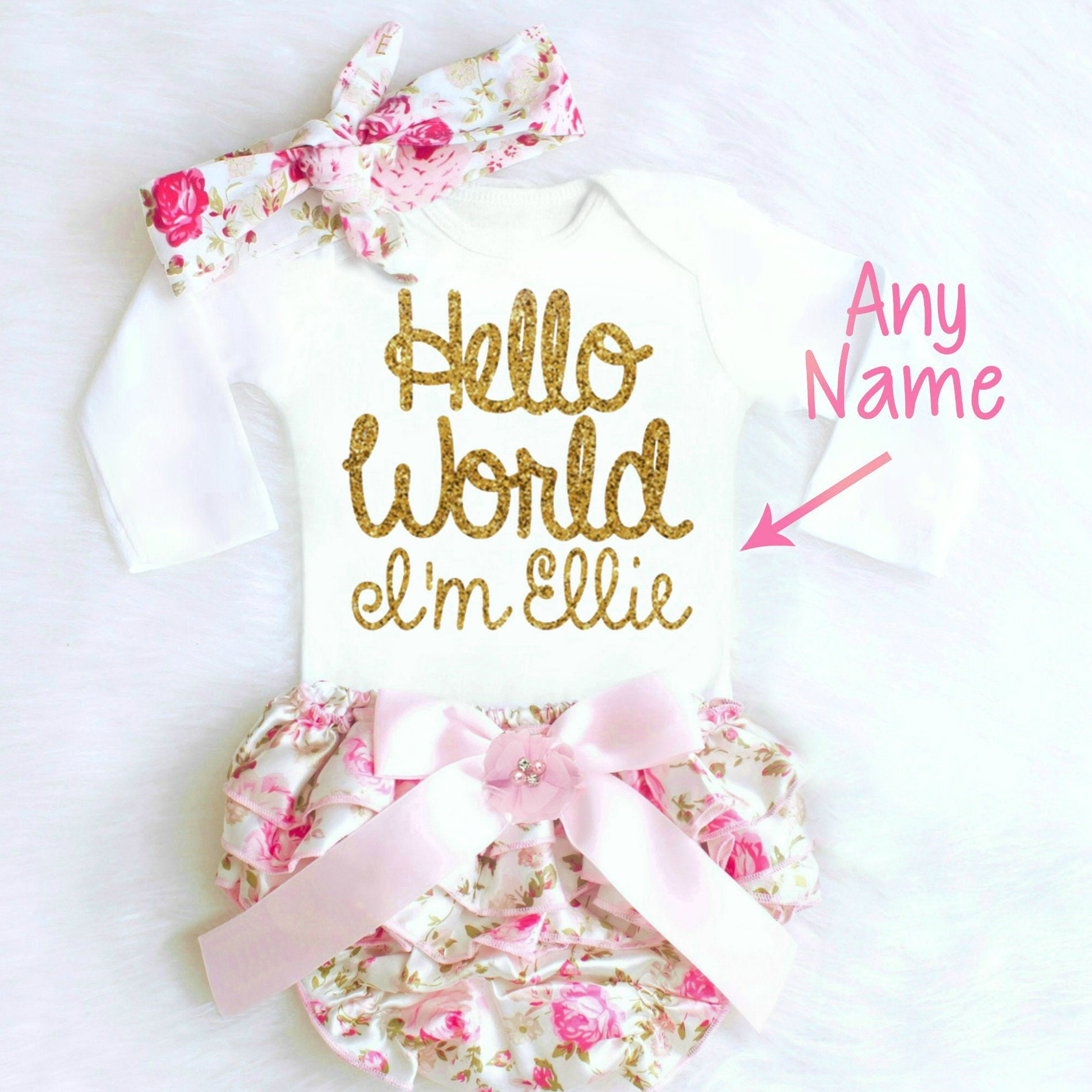 df36ddc613c8 Baby Girl Gift Baby Girl Clothes Baby Shower Gift Girl