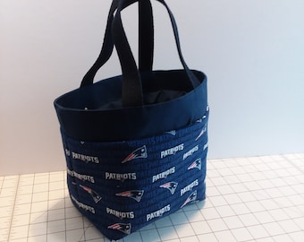 NFL New England Patriots Insulated Lunch Bag