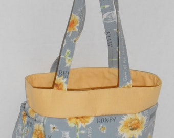 CUSTOM Large Insulated Lunch Tote with Bottle Holder