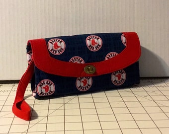 MLB Boston Red Sox Necessary Clutch Wallet