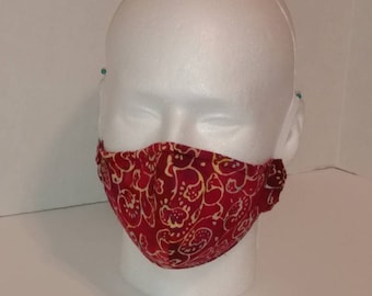 Custom Face Mask with Elastic Over Ear Loops