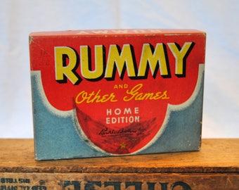 Vintage Rummy Card Set