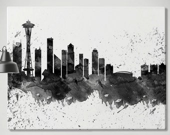 seattle canvas etsy