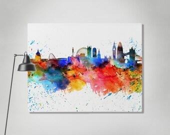 18c5e2f8c2e London canvas print