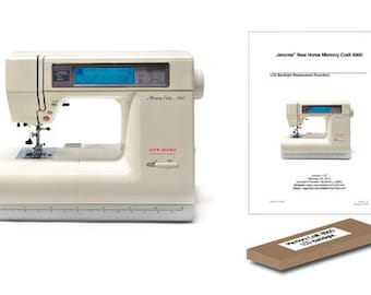 Janome (New Home) Memory Craft 8000 LCD Backlight Replacement Kit