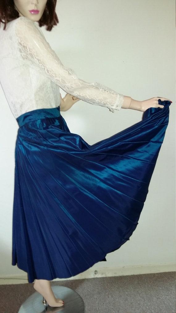 Vintage 1940s Skirt Pleated 1940s Fashion Ladies S