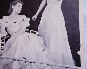 Vintage 1930's Fashion Vintage Catalog 30s Fashion Advertising 1938