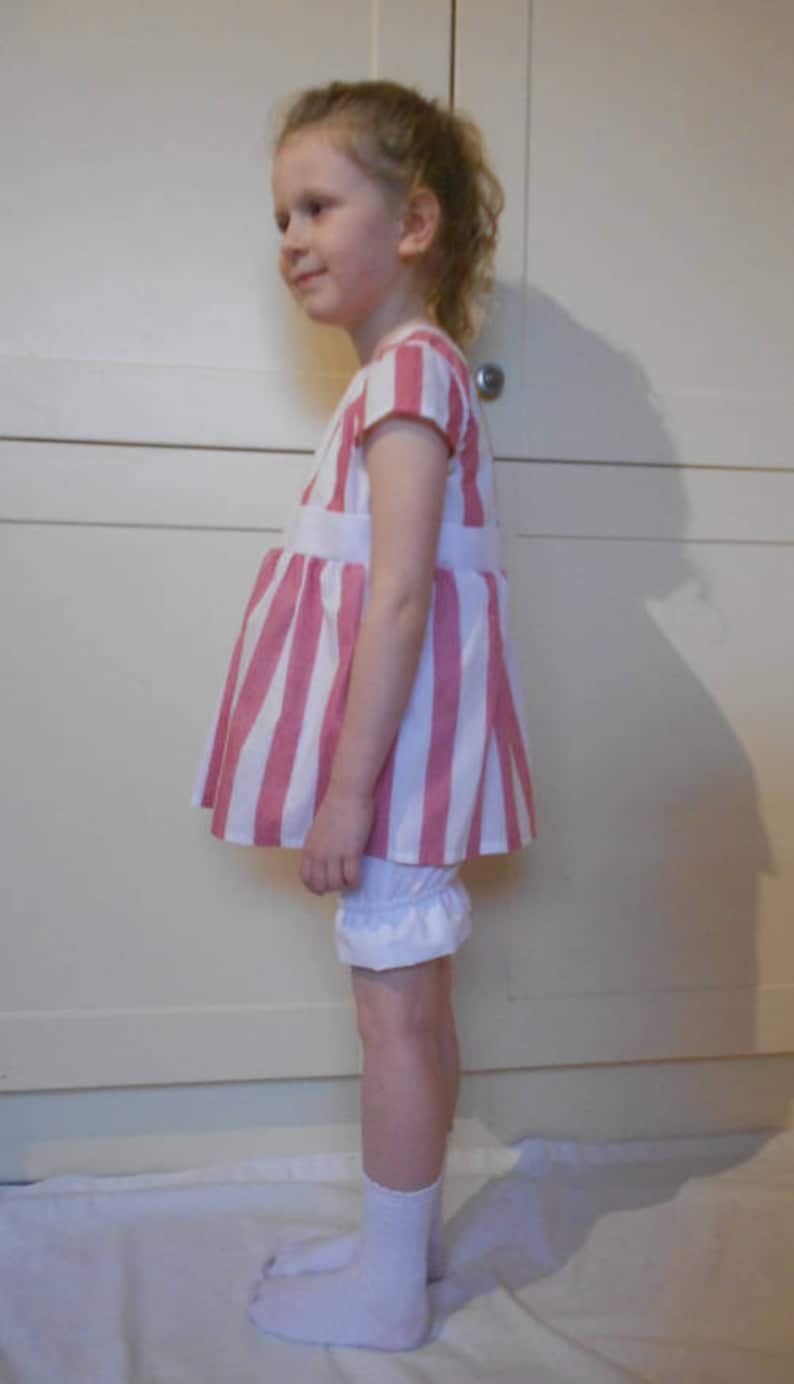 Straw boater hat White bloomers Red and White striped dress Milly-Molly-Mandy Dress World Book Day Character.