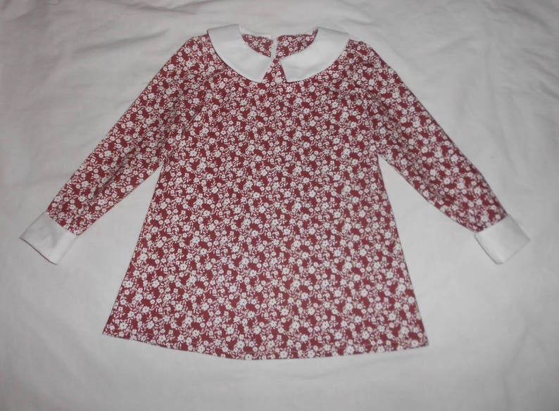 5afc25b74c6 Lola-Style Dress.Retro Style. White Peter Pan Collar. World