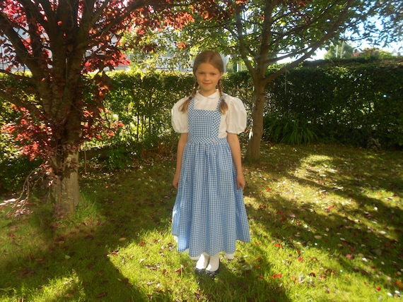 World Book Day-Girls-Dance-wear-GINGHAM PINAFORE Larger Child Sizes